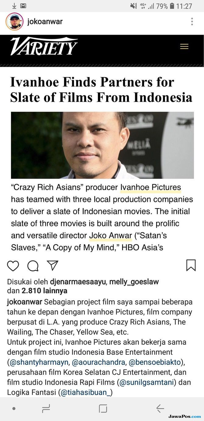 joko anwar, Crazy Rich Asians,