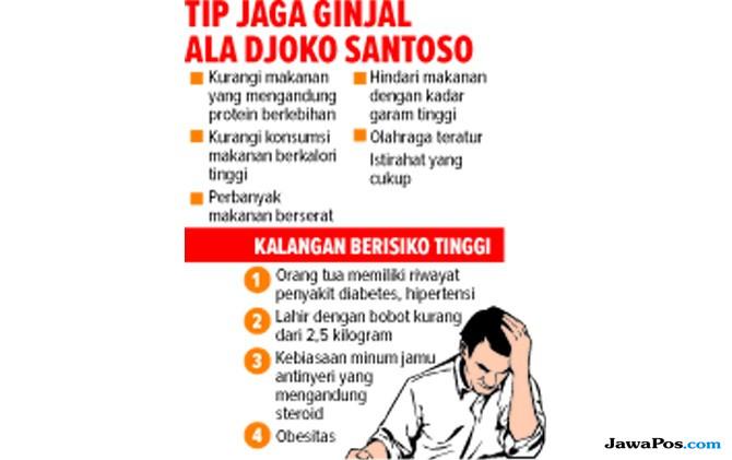 Prof Djoko Santoso Bagi Ilmu Sehat lewat Buku, Ajak Kenali Penyakit Ginjal