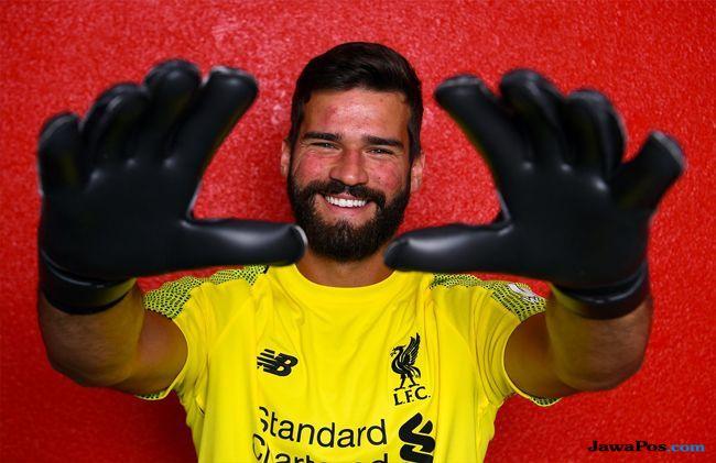 Bursa Transfer Pemain, Liverpool, AS Roma, Alisson, Kiper Termahal Dunia, Rekor Transfer