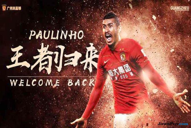Bursa transfer pemain, Barcelona, Guangzhou Evergrande, Paulinho