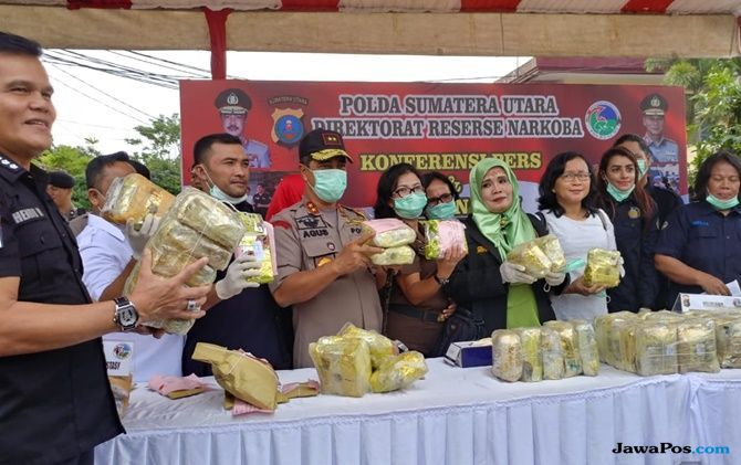 Ringkus Sindikat Narkoba, Polisi Sita 13,5 Kg Sabu dan 12.681 Ekstasi