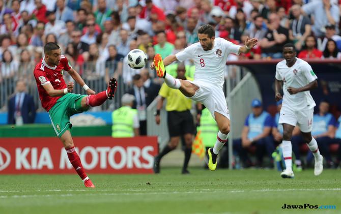 Timnas Portugal, Timnas Maroko, Cristiano Ronaldo, Piala Dunia 2018,