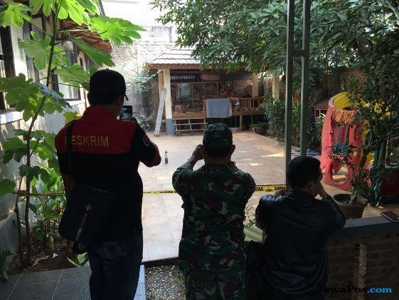 Rumah Kapitera Ampera Dilempar Dua Bom Molotov
