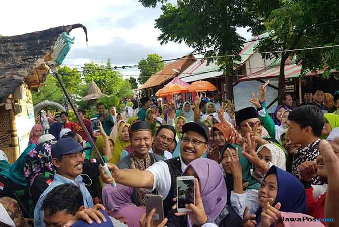 Sambangi Bangsring, Saifullah Janjikan 200 Ribu Lapangan Kerja Baru
