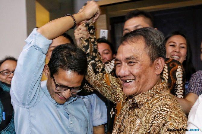 Sambangi Mega Kuningan, Sandiaga Langsung Cium Tangan SBY