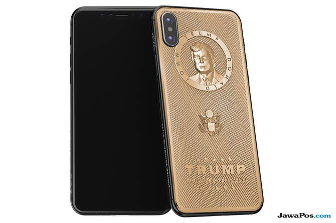 iphone x, iphone x donal trump