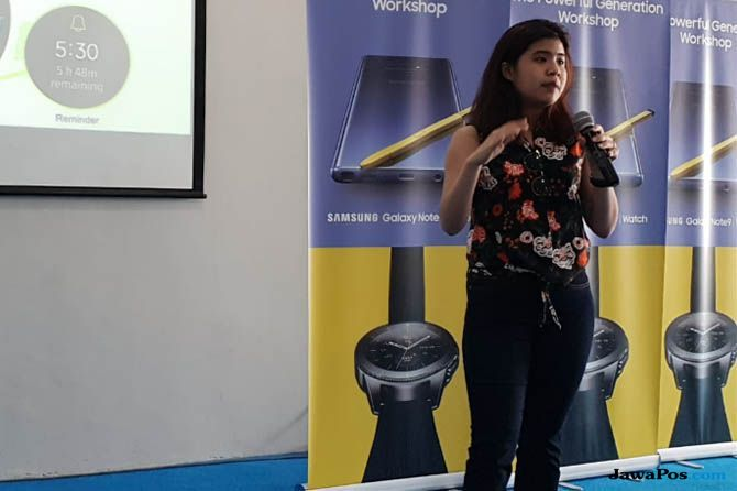 Samsung Galaxy Watch, Annisa Maulina Samsung, Galaxy Watch keunggulan