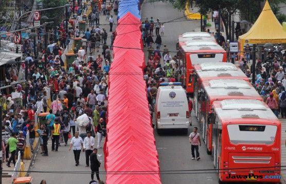 Sandi Klaim Ombudsman dan PMJ Setuju Tutup Jalan Jatibaru Usai Lebaran