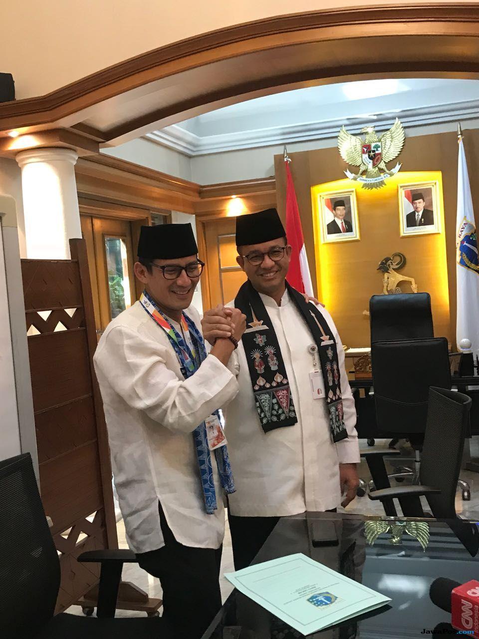 Sandiaga Uno Resmi Mundur dari Wakil Gubernur DKI Jakarta