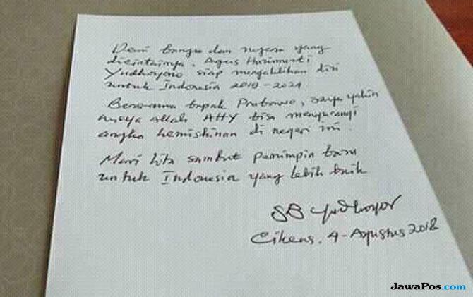 Surat SBY