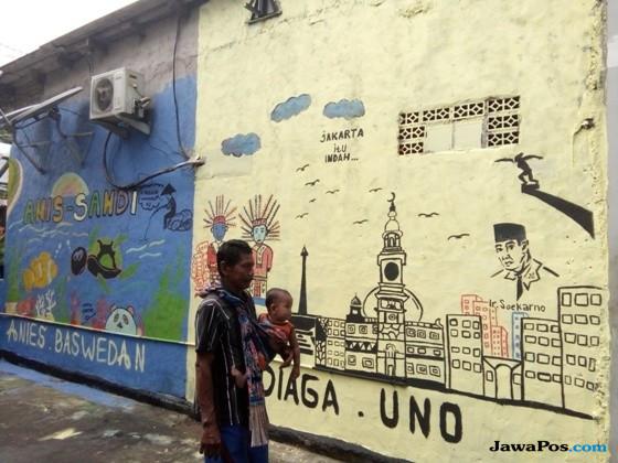 Sebelum Lebaran, Anies Ingin Kampung-Kampung di Jakarta Berwarna