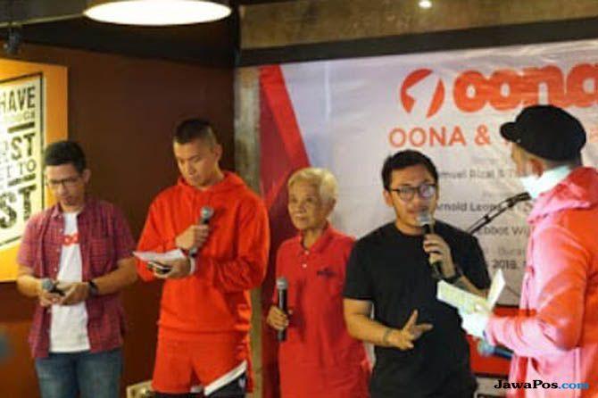 Oona, aplikasi Oona, Oona & the stars