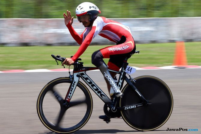 Asian Para Games 2018, Muhammad Fadli, Sepeda, Balap Sepeda, Indonesia, Para Sepeda