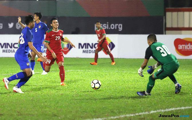 Timnas U-23 Indonesia, Timnas U-23 Thailand, Laga Persahabatan