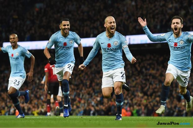 Premier League 2018-2019, Liga Inggris, Manchester City, Manchester United, Derby manchester