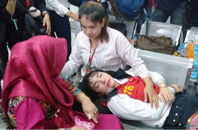 Shock Divonis 4 Tahun Penjara, Roro Fitria Nangis Sambil Takbir