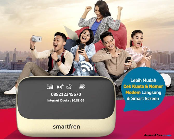 Smartfren, Smartfren modem, Smartfren modem M6