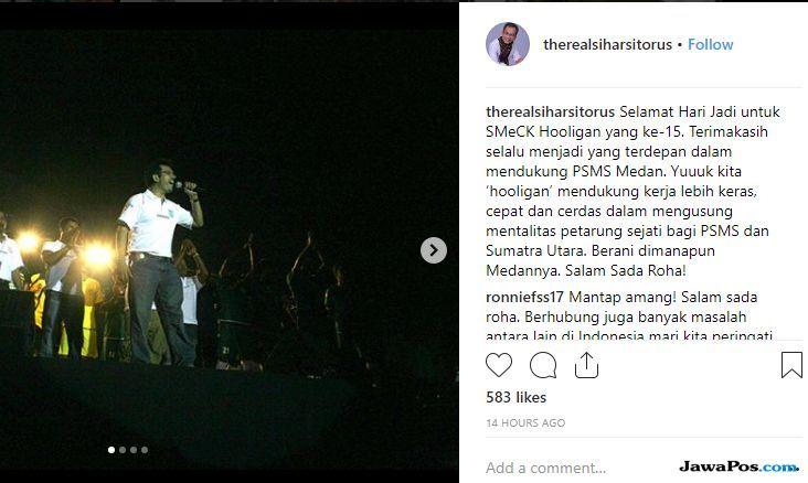 PSMS Medan, Sihar Sitorus, SMeCK Hooligan