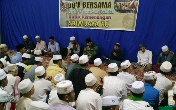 Sriwijaya FC Gelar Doa Bersama Jelang Kontra Bali United