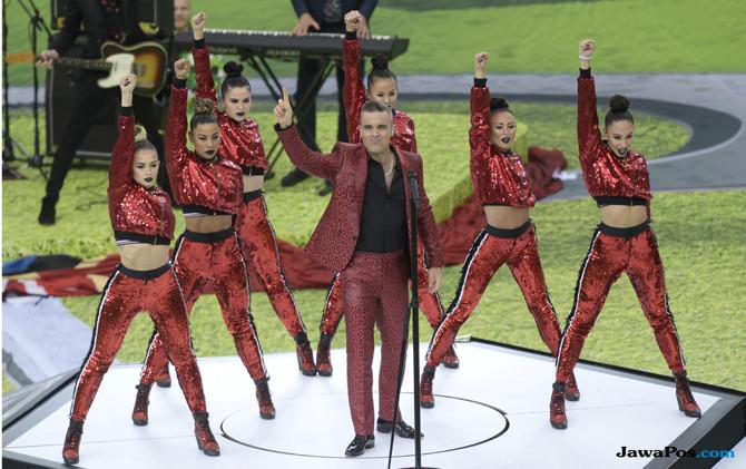 Piala Dunia 2018, Opening Ceremony, Acara Pembukaan, Stadion Luzhniki, Robbie Williams