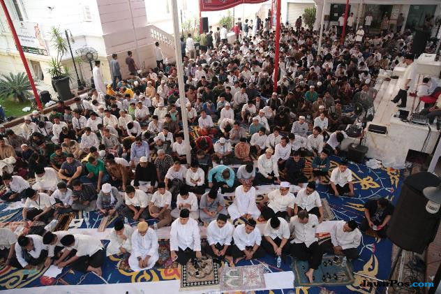 Tak Bisa Mudik, 3.000 WNI Padati Perayaan Lebaran di KBRI Kairo