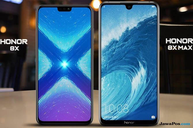 Honor 8X, Honor 8X Max, Honor 8X Indonesia