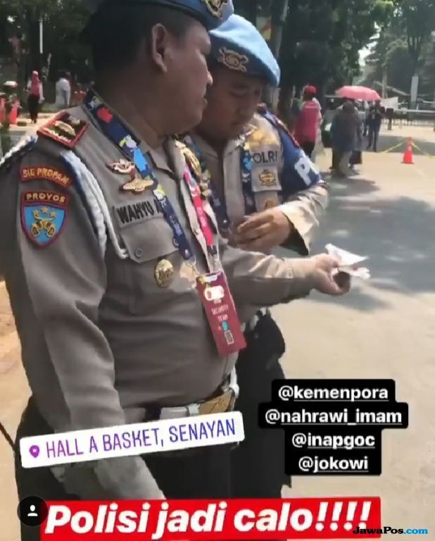Tegas, Kapolres Jakpus Bantah Polisi Jadi Calo Tiket Asian Para Games