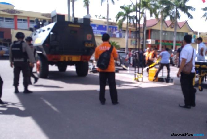 Teroris di Polda Riau