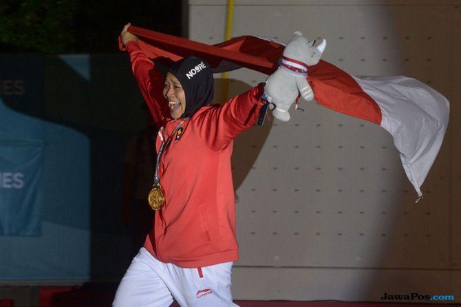Terima Bonus Rp 2,5 M, Aries Susanti Rahayu Kepikiran Olimpiade 2020