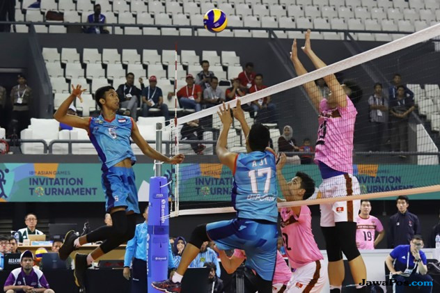 Asian Games 2018, Tim Voli Putra Indonesia