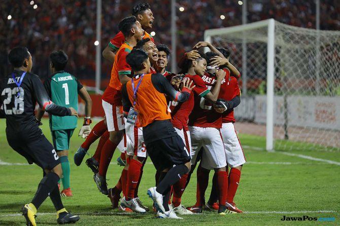 Timnas U-16 Indonesia, Piala AFF U-16 2018, Presiden Jokowi, Thailand