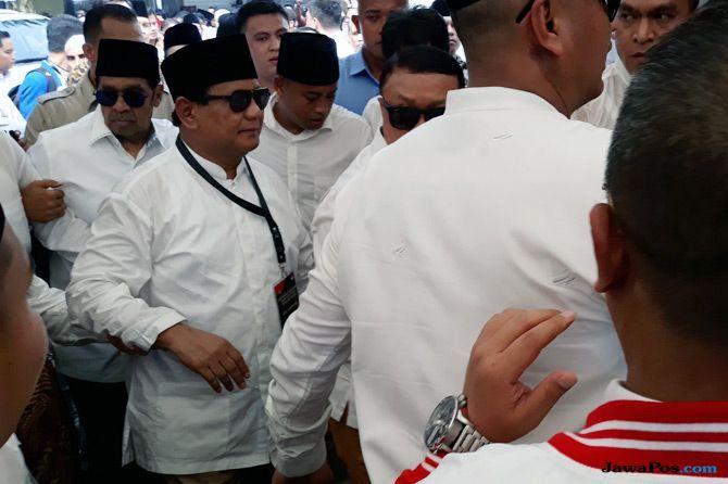 Titiek Soerharto Turut Dampingi Prabowo-Sandi Mendaftar ke KPU