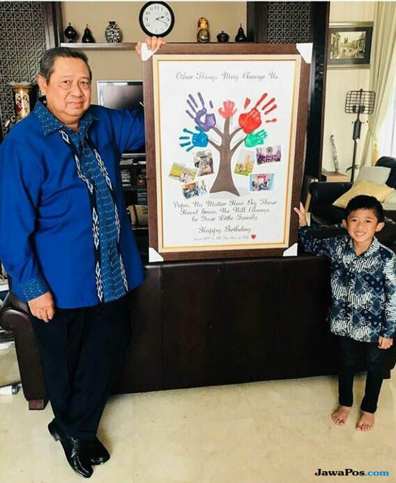 Ultah SBY Ke-69 Tahun, Ini Doa Menyentuh Ibas untuk Ayahanda