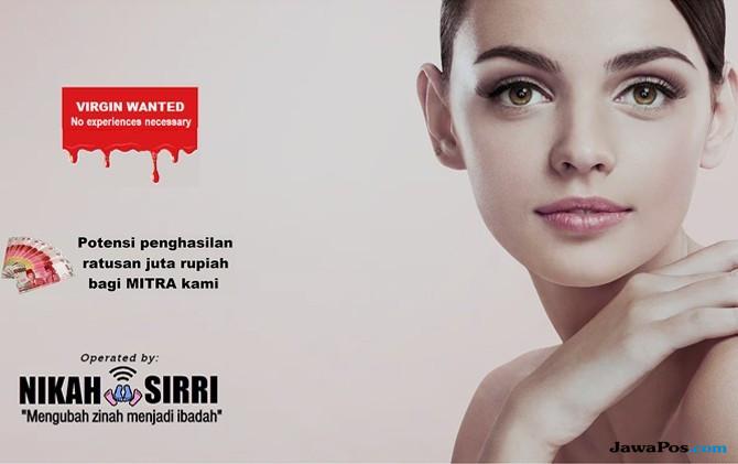 Unsur Trafficking di Lelang Perawan Nikahsirri.com Harus Diungkap