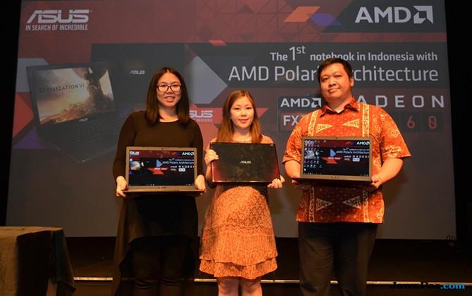 Untuk Gamers, Ini Notebook Pertama dengan APU Genereasi Ke-7 AMD