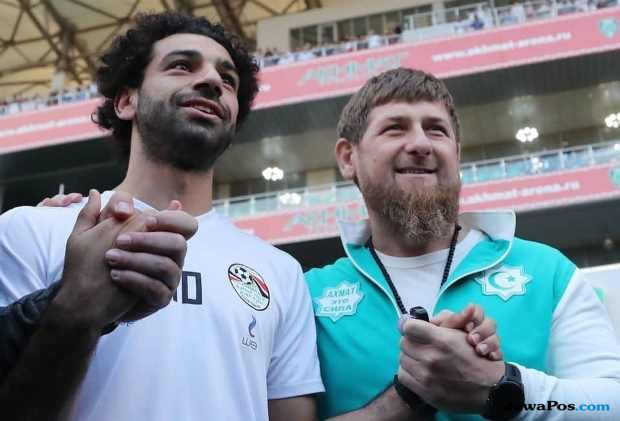 Wah, Mo Salah Diberi Kewarganegaraan Chechnya