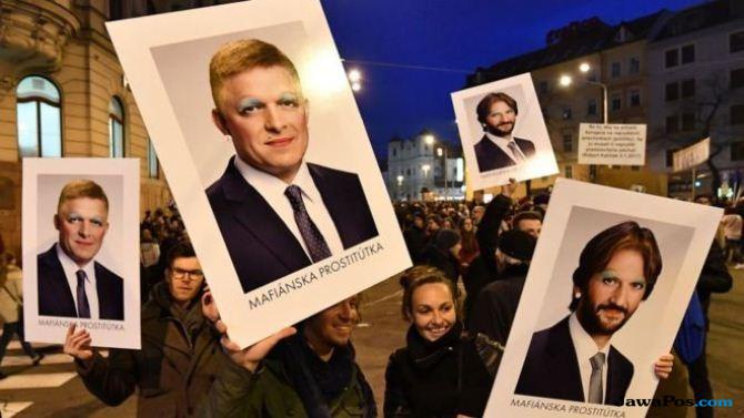 Wartawan dan Kekasihnya Tewas Ditembak, Wakil PM Slovakia Mundur!