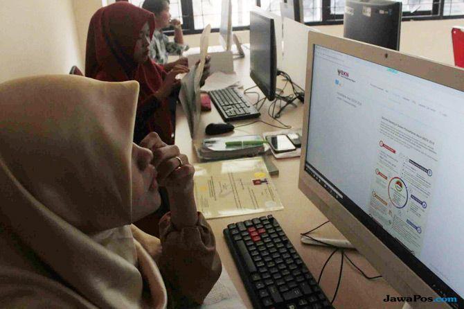 Website SSCN Sulit Diakses, Jumlah Pelamar CPNS Baru 10 Ribu