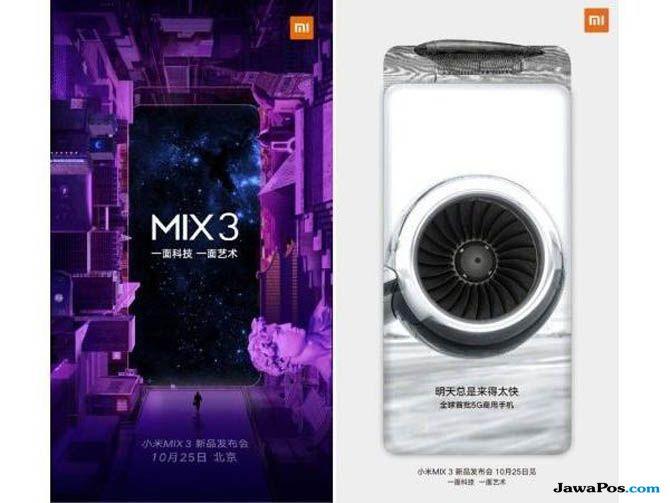 Mi Mix 3, Xiaomi Mi Mix 3, Mi Mix 3 bocoran