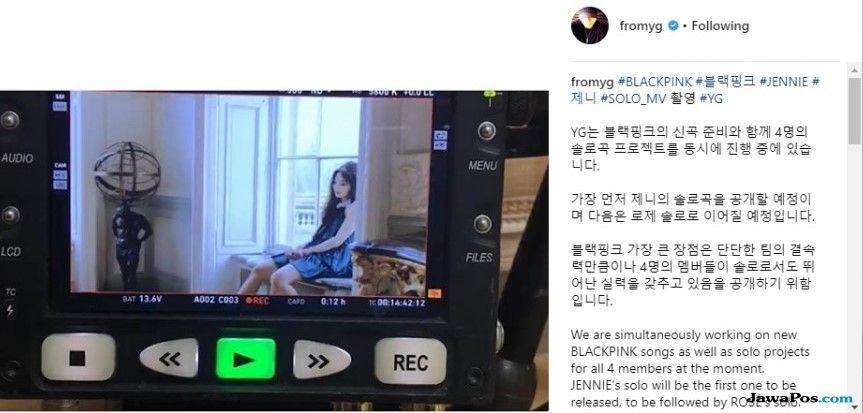 Yang Hyun Suk Pastikan Seluruh Member Blackpink Akan Debut Solo