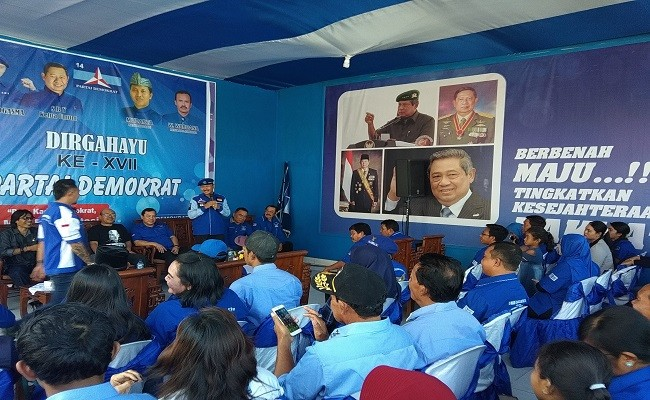 Pilpres 2019, Pemilu 2019, Prabowo-Sandi, Partai Demokrat, Pileg 2019, DPC Demokrat Jembrana,