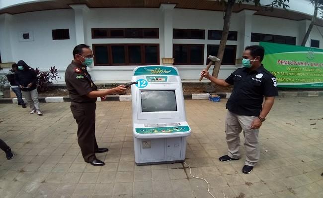 pemusnahan BB, kejari Denpasar, Kejati Bali, barang bukti raib,