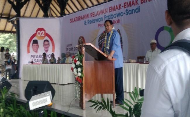 Pilpres 2019, Prabowo Sandi, Relawan Emak-Emak, Presiden Jokowi,