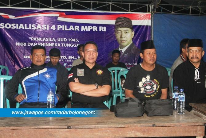 PENCERAHAN: Didik Mukrianto, SH, MH sosialisasi 4 Pilar MPR RI di Bojonegoro, Sabtu (27/10)