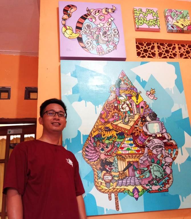 guru, pelukis, seni, seniman, pop art, lukisan