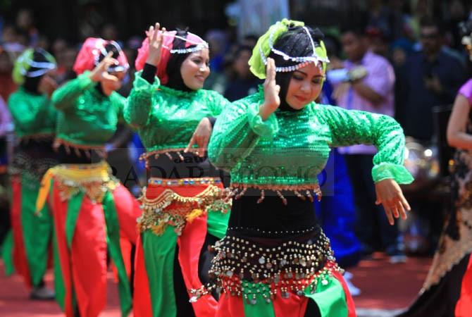 semipro, even tahunan, budaya, kota probolinggo, tarian, tari, menari