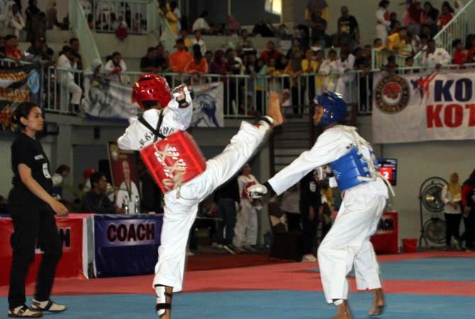 kejurprov, probolinggo, taekwondo