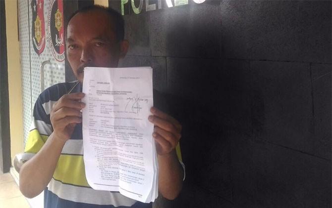 dokumen laporan ke polisi
