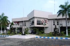 Gedung DPRD Jombang tampak dari depan