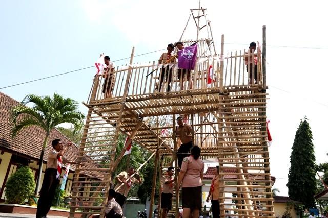 menara bambu